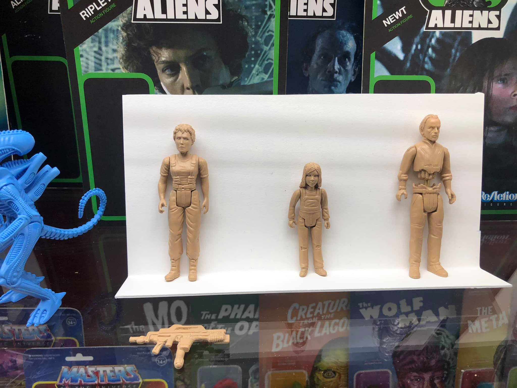 Xenomorph Blind Box Action Figure Super7 Alien ReAction Figure A-3 CHASE GHOST
